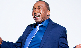 Promotional graphic for Ben Vereen. Courtesy of Martinis ...