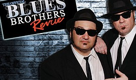A promotional poster for Blues Brothers Revue, courtesy o...