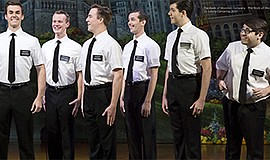 """A photo from """"The Book of Mormon"""" courtesy of Broadway Sa..."""