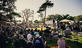 Promotional photo of a previous Carlsbad Music Festival. ...