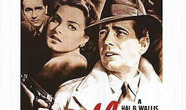 """Promotional movie poster for the film """"Casablanca"""". Court..."""
