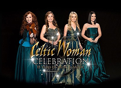 Promotional graphic for Celtic Woman tour. Courtesy of Ce...