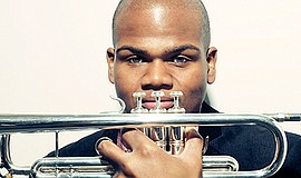 A promotional photo of trumpeter Curtis Taylor, courtesy ...