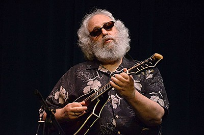 Promotional photo of David Grisman. Courtesy of Belly Up ...