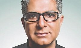 Promotional photo of Deepak Chopra. Courtesy of Fairmont ...