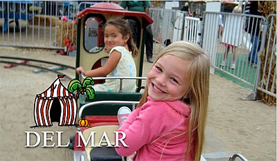 Promotional graphic for Del Mar Pumpkin Station. Courtesy...