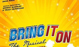"""Promotional poster for """"Bring It On"""" The Musical. Courtes..."""