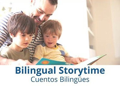 Promotional photo for the Bilingual Storytime. Courtesy o...