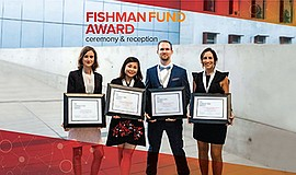 Promo graphic for 2019 Fishman Fund Award Ceremony And ...