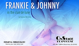 Promo graphic for 'Frankie & Johnny In The Clair De Lune'