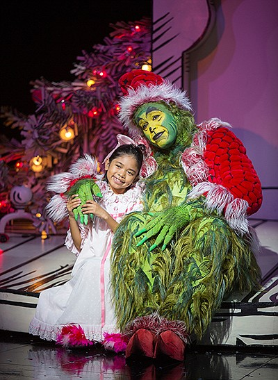 Promotional photo from Dr. Suess's How the Grinch Stole C...