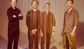 A promotional photo of the band Guster, courtesy of Ticke...