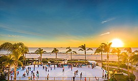 Promotional photo of at Skating by the Sea® at Hotel del ...