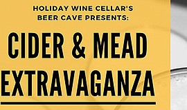 Promo graphic for Holiday Wine Cellar - Cider & Mead Ta...