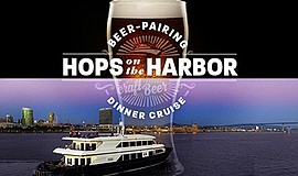 Promo graphic for Hops on the Harbor with Ballast Point
