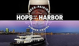 Promo graphic for Hops on the Harbor with Coronado Brew...