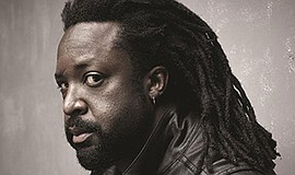 Promo graphic for Marlon James - 'Black Leopard, Red Wolf'