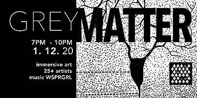 """Promotional graphic for """"Grey Matter."""" Courtesy of A Ship..."""
