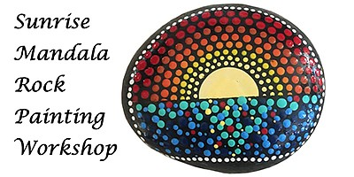 Promotional photo for the rock painting workshop. Courtes...