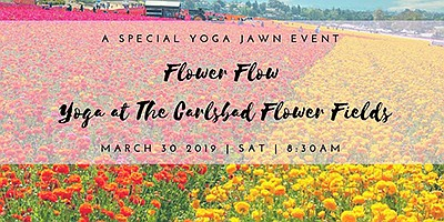 Promotional photo for the Flower Flow Yoga class. Courtes...