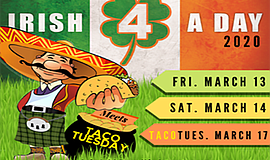 Promotional graphic for Irish 4 A Day - St Patrick's Day ...