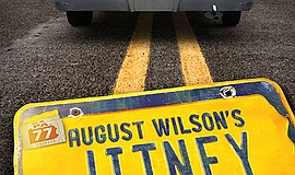 """Promotional graphic for August Wilson's """"Jitney"""". Courtes..."""