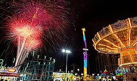 Promotional photo for San Diego County Fair's Fireworks S...