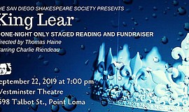 "Promotional graphic for the ""KING LEAR"" Staged Reading an..."