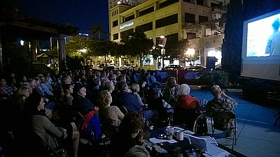 Promotional photo of Little Italy Summer Film Festival. C...