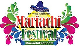 Promotional graphic for Mariachi Festival. Courtesy of Th...