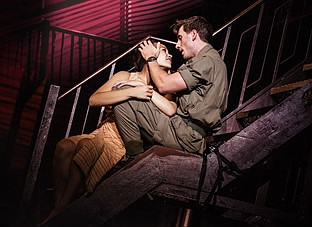 "A photo from the 2019 touring production of ""Miss Saigon,..."