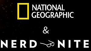 Promotional graphic for National Geographic Nerd Nite. Courtesy of Outside Co...