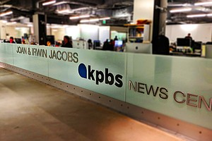 Above: KPBS Joan and Irwin Jacobs News Center