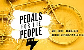 Promotional graphic for Pedals for the People event. Cour...