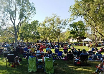 Promotional photo of Poway Summer Concert Series. Courtes...