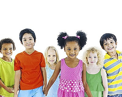 Promotional photo of preschool students. Courtesy of Miss...