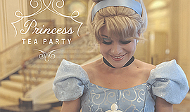 Promo graphic for Princess Tea Party At The Westgate Hotel