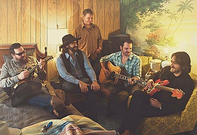 Promotional photo of band Reckless Kelly. Courtesy of Bel...