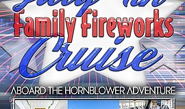 Promotional graphic for Rock the Boat July 4th Fireworks ...