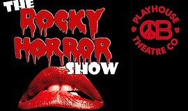 """Promotional graphic for """"The Rocky Horror Show"""", courtesy..."""