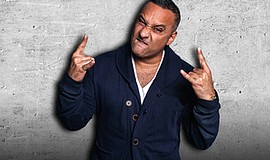 A promotional photo of comedian Russell Peters, courtesy ...