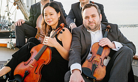 Promotional photo courtesy of The Hausmann Quartet.