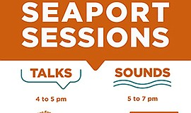 Promo graphic for Seaport Sessions | CJT Ecologics