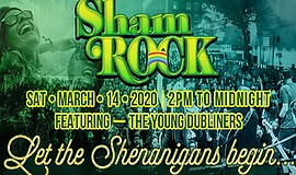 Promotional graphic for ShamROCK, courtesy of San Diego B...