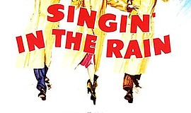 "Promotional film poster for ""Singin' in the Rain"". Courte..."