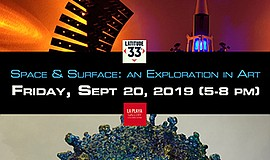 Promo graphic for 'Space & Surface: An Exploration In A...