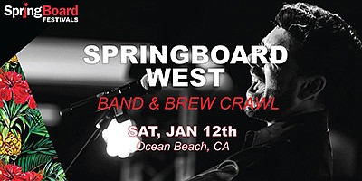 A promotional poster for Springbaord West, courtesy of Ev...
