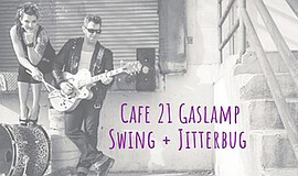 Promo graphic for Gaslamp Swing And Jitterbug Dance Class