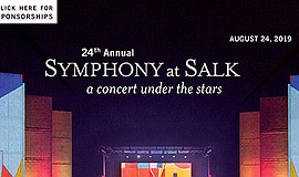 Promo graphic for Symphony At Salk