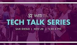 Promo graphic for Witi Tech Talk Series: An Evening Wit...